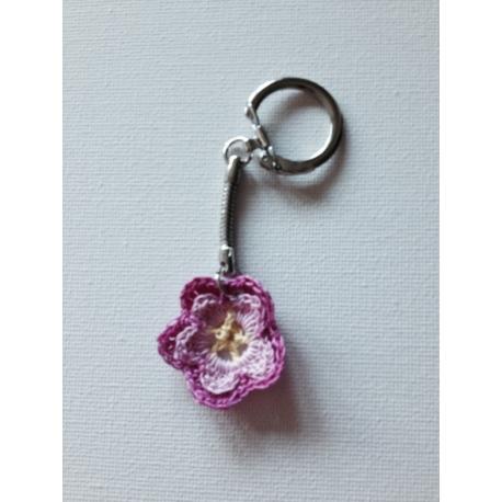 Porte-clés « fleur »