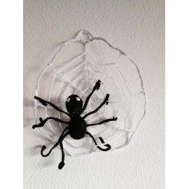 Toile d'araignée « spécial Halloween »