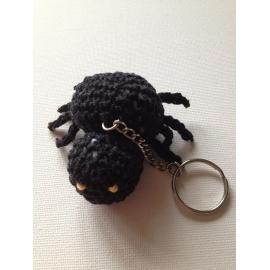 Porte-clés araignée « spécial Halloween »