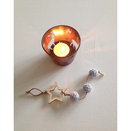 Suspension « étoile » de Noël