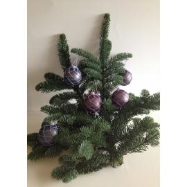 Coffret de 5 boules de Noël